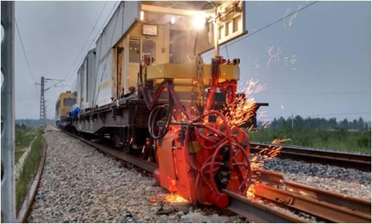 移动式钢轨闪光焊